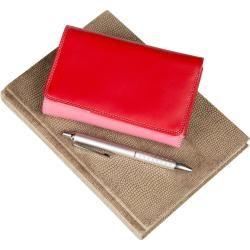 Mywalit Geldbörse Medium Tri-Fold w/Outer Zip Purse Ruby MyWalit #purses