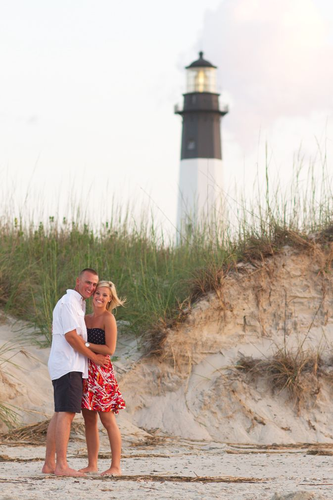Engagement Photos On Tybee Island