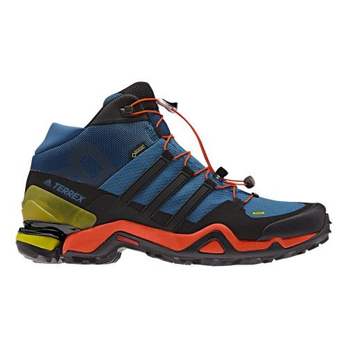 best value 60166 051be Botas adidas Terrex Fast R Mid GTX azul negro naranja   deporvillage