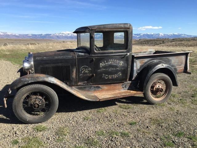 1931 Ford Model A Pickup Classic Survivor Possible Rat Rod Or
