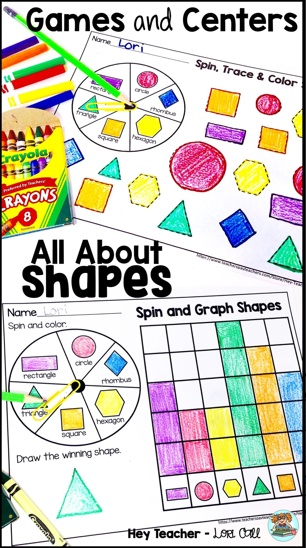 2 D Shapes Activities Games Centers Amp Worksheets