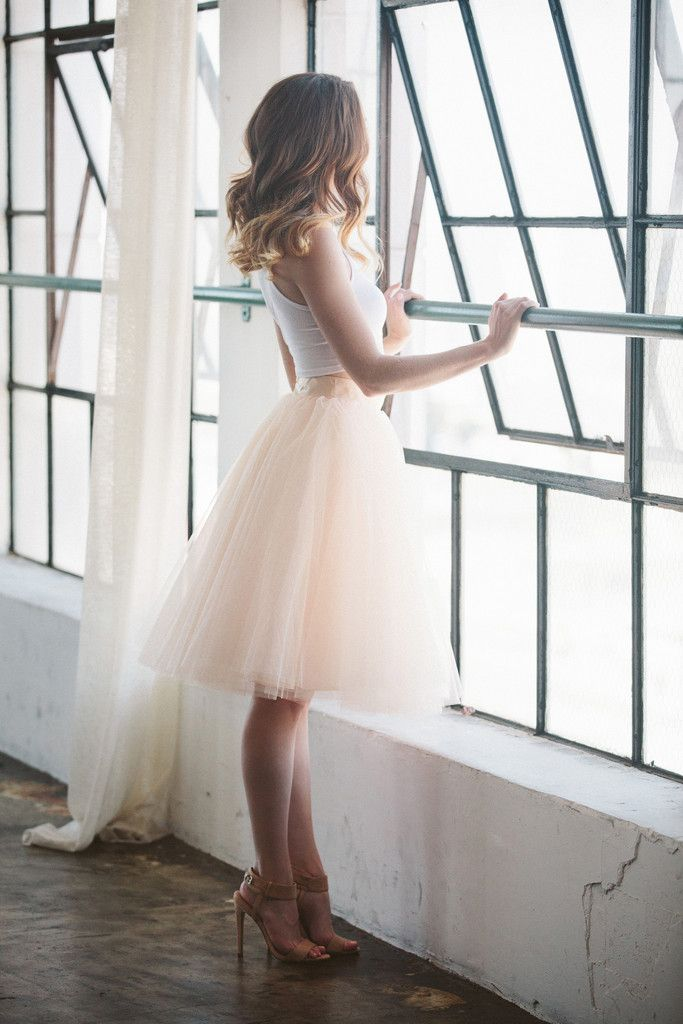 """This skirt features 4 layers of tulle, fully lined with a hidden back zipper. All length is approximately 25"""". *As seen on blogger Walk in Wonderland HERE. Sizing Size 24W - XS - Waist 24"""" (12"""" across"""