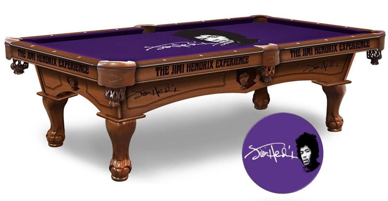 Jimi hendrix experience logo cloth pool table products pinterest