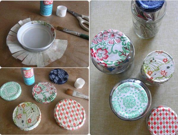 ecoideas y reciclaje ideas muy bonitas y econmicas para decorar frasco