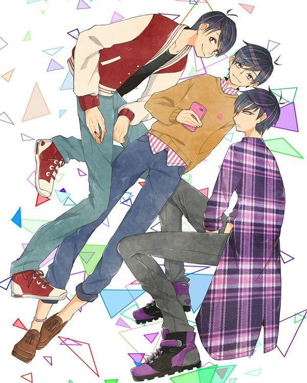 Osomatsu, Ichimatsu & Todomatsu
