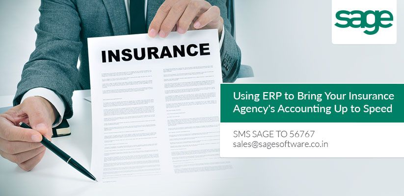 Erp solution for insurance agency helps in keeping