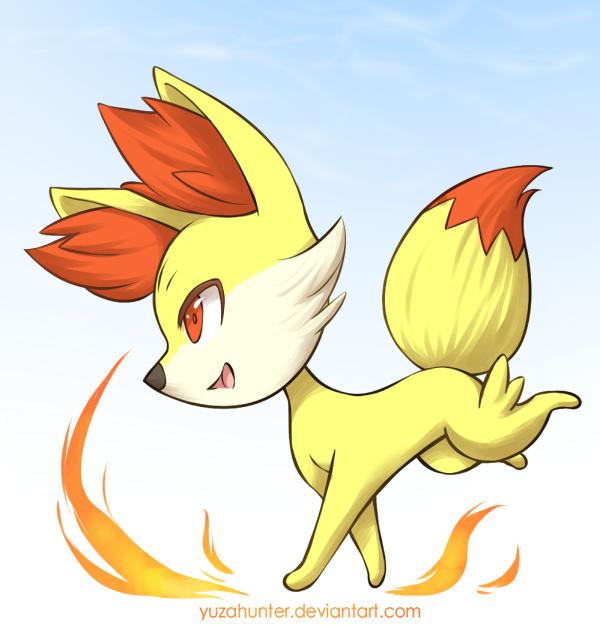 Pokemon Xy Fennekin By Yuzahunter D5quyoh Png 600 625 Pixels