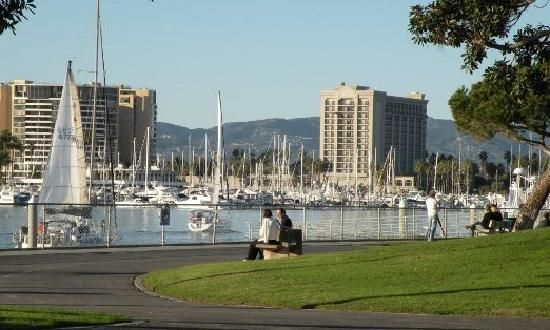Burton Chace Park Marina Del Rey Great Place For Fantasea Couples To Take Pre Wedding Photos