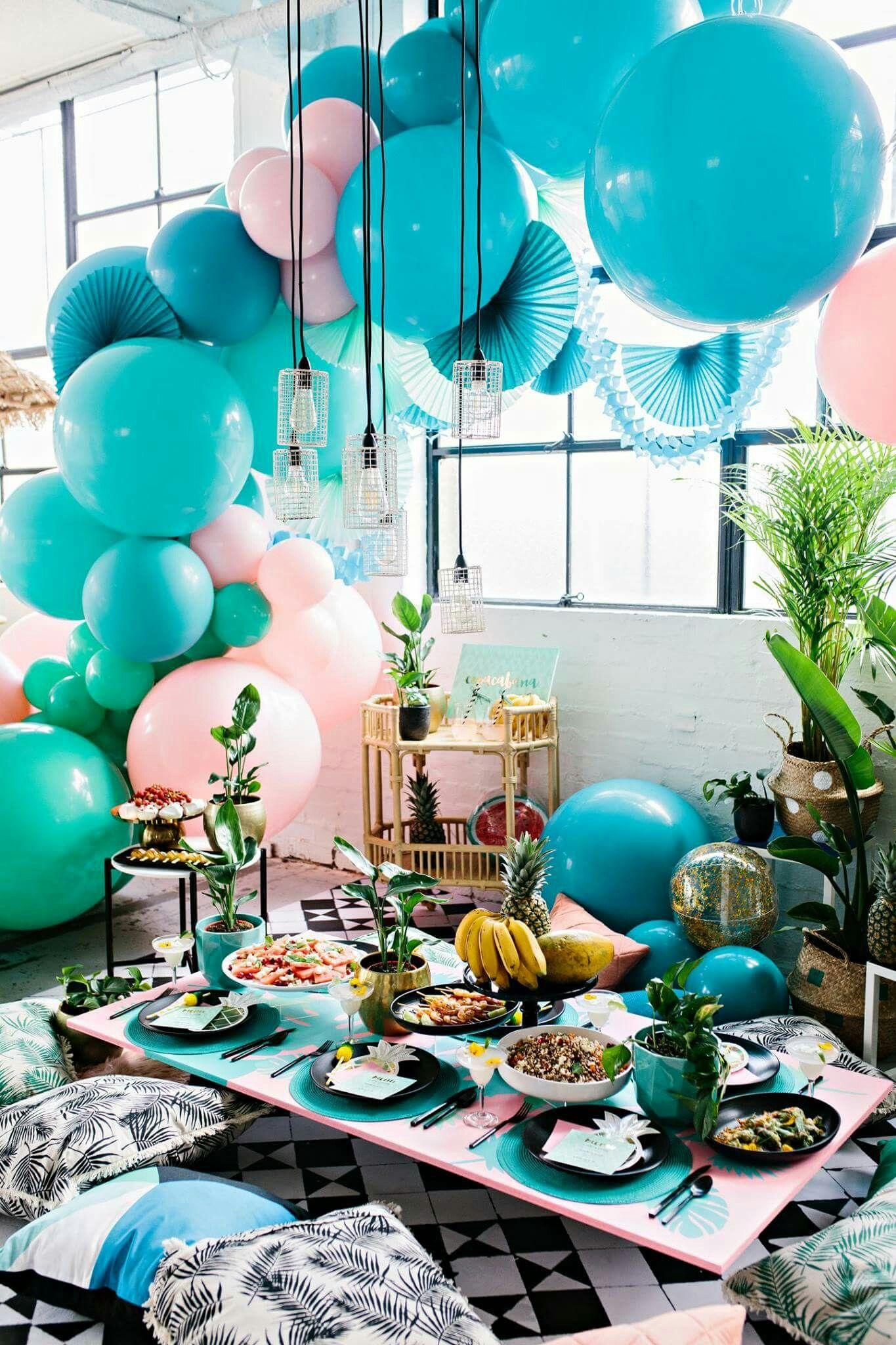 Luftballons Deko, Deko Geburtstag, Fotografie Ideen, Deko Ideen, Kreativ,  Zuhause, Geburtstage, Dekoration, Basteln