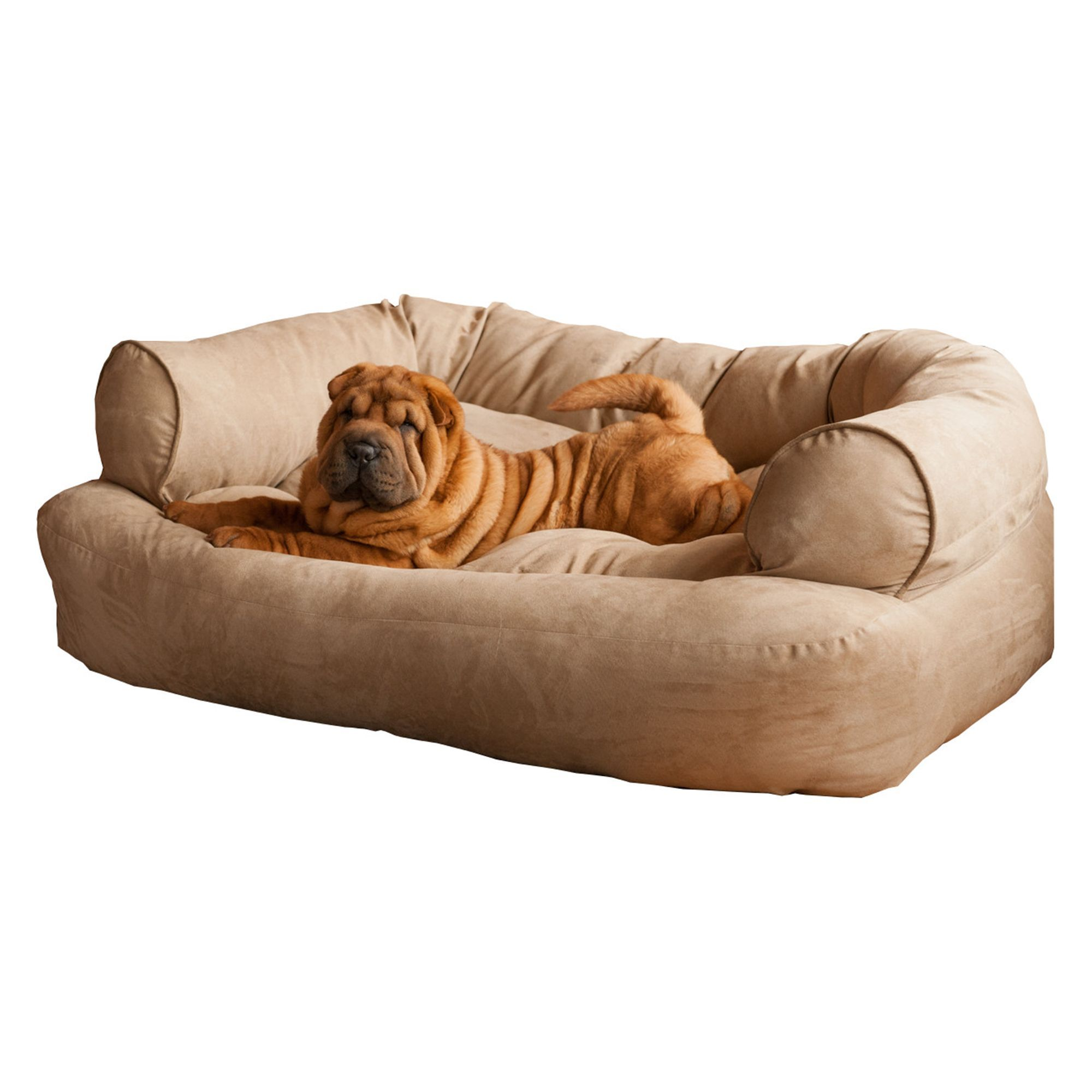 Best Snoozer Overstuffed Luxury Sofa Pet Bed Size 54 L X 36 W 640 x 480