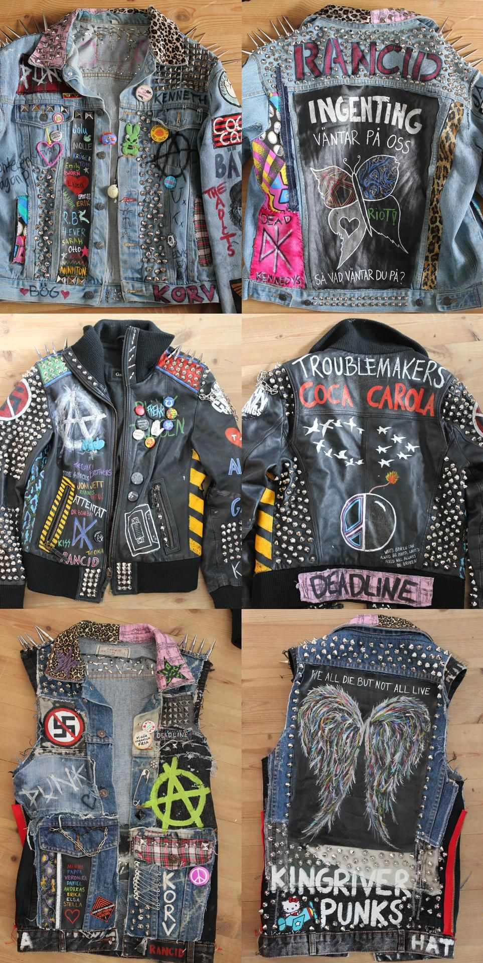 Need To Make Punk Goth Punk Jackets Punk Outfits Grunge