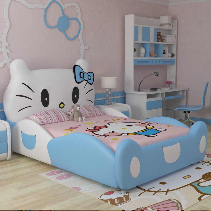 2020 New Design Modren Design Hello Kitty Pink Leather Children Bedroom For Girls Bedroom Design Bedroom Girlbedroom Child Aliexpress In 2020 Childrens Bedroom Furniture Sets Baby Crib Mattress Childrens Bedroom Furniture