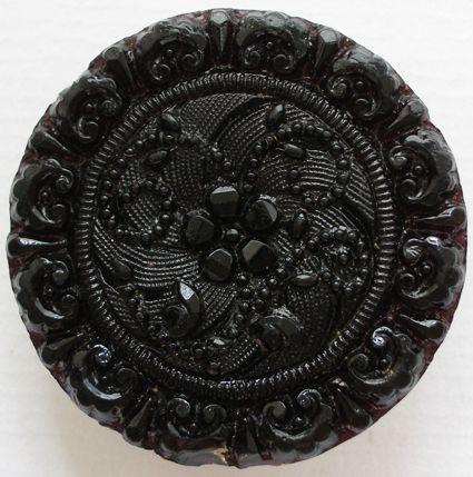button black glass