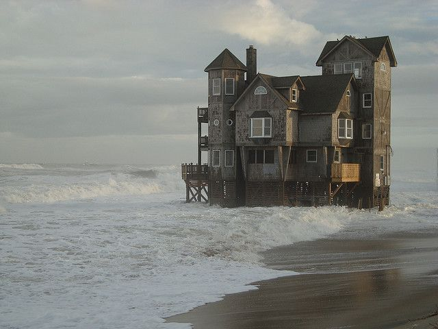 Ordinary Nights In Rodanthe House On Beach Part - 13: Love This House In Rodanthe, NC. I Call It The House With Its Feet In The  Water. The Outer Banks Are Awesome!!! Did Not Care For The Film That The  House Was ...