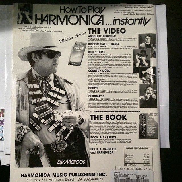 Check Out My Sweet Harmonica Bandolier Read My Book And Become A
