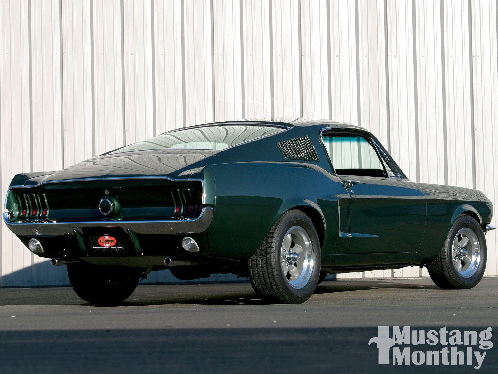 1968 Mustang Fastback Bullitt Replica If only Steve McQueen was