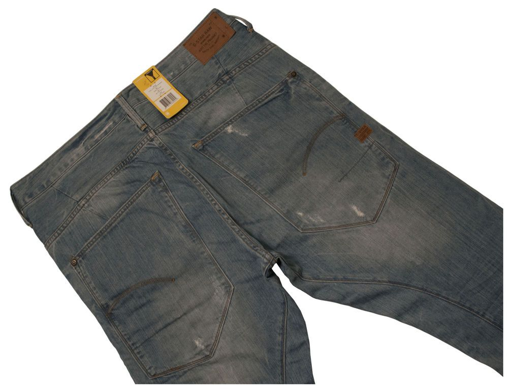 G-Star RAW Jeans Type C 3D Loose Tapered Men's W32 L32 RRP $240