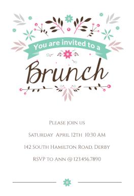 16 spring brunch invite ideas brunch