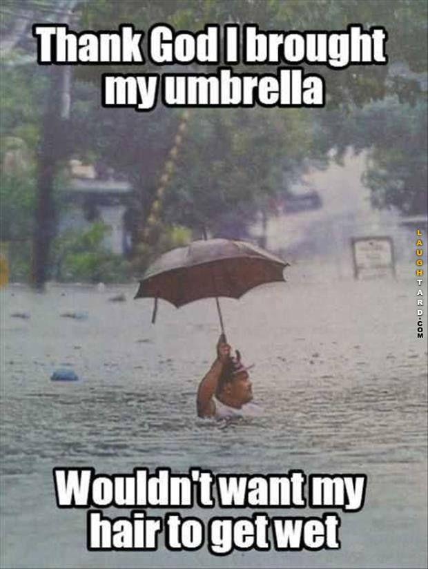 Thank God I Brought My Umbrella Really Funny Pictures Funny Picture Quotes Really Funny