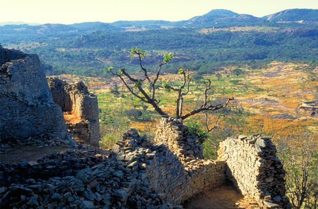 Mysteries Of Great Zimbabwe Nova Conical Tower And