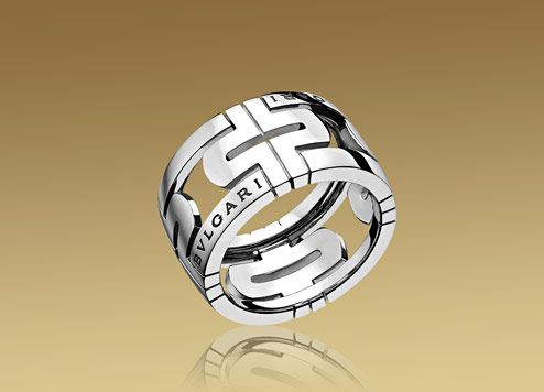 my ring bvlgari parentesi ring in white gold
