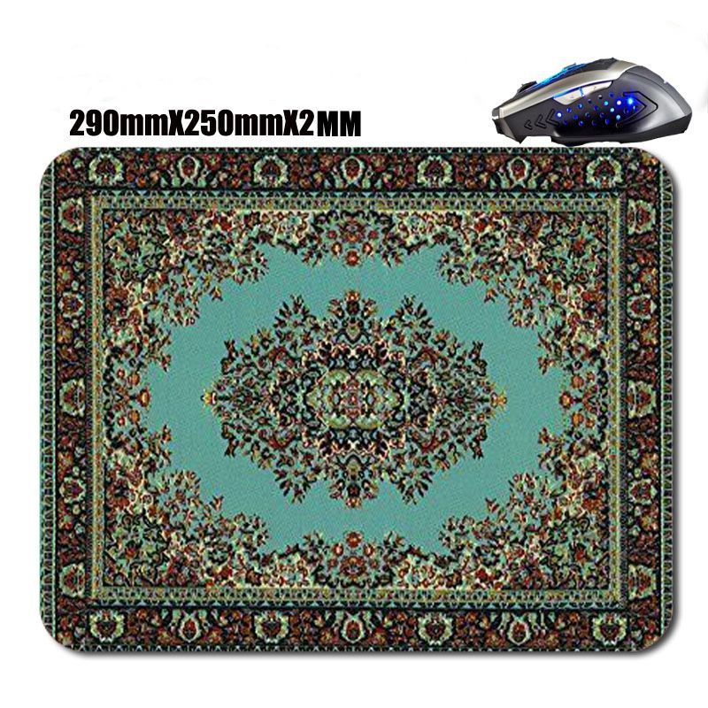 shop selling antislip Persian rug mouse pad high definition printing - mouse tracker