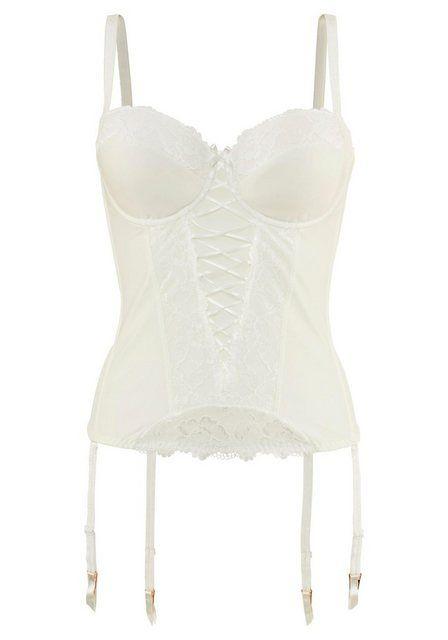 LASCANA hochwertige Corsage 'Jaline' mit abnehmbaren Trägern - eine perfekte Corsage für deine Hochzeit online kaufen #corsages