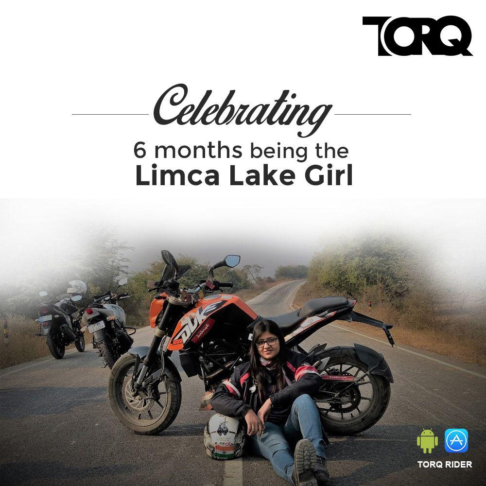 TORQ Congratulate Vartika Jain for entering into Limca