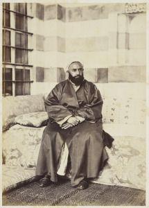 Portrait of Abd al-Qadir, May 1862 Royal Collection Trust / © Her Majesty Queen Elizabeth II 2014