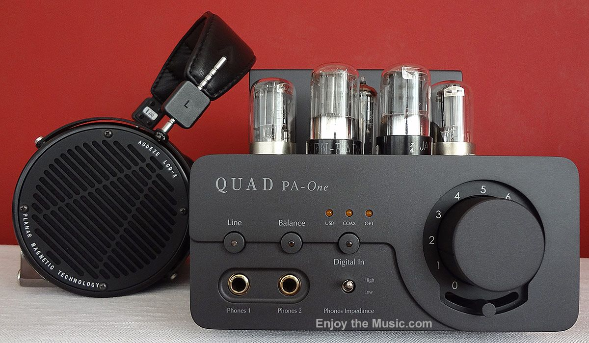 Quad Pa-One Headphone Amplifier With Audeze LCD-X Planar Magnetic ...