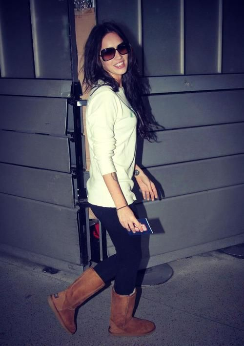 Megan Fox spotted wearing UGG Adirondack | Ugg boots, Womens