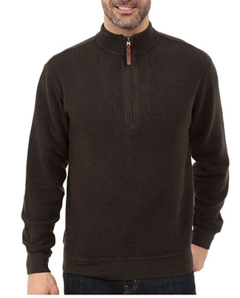 50% off retail! WOOLRICH  MENS BROMLEY Pull over 1/2 zip SWEATER NWT MEDIUM #WOOLRICH #PULLOVER