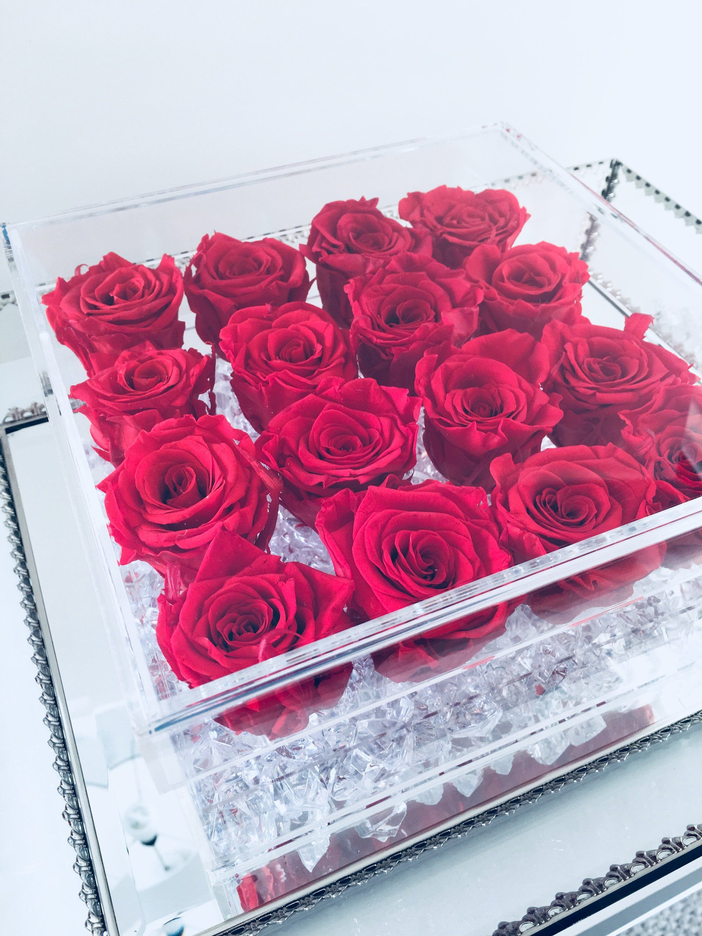 Flowerglowdesigns Preserved Roses Rose Buds Box Roses