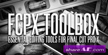 TOOLBOX 1 - Pro Editing tools for FINAL CUT PRO X | For video