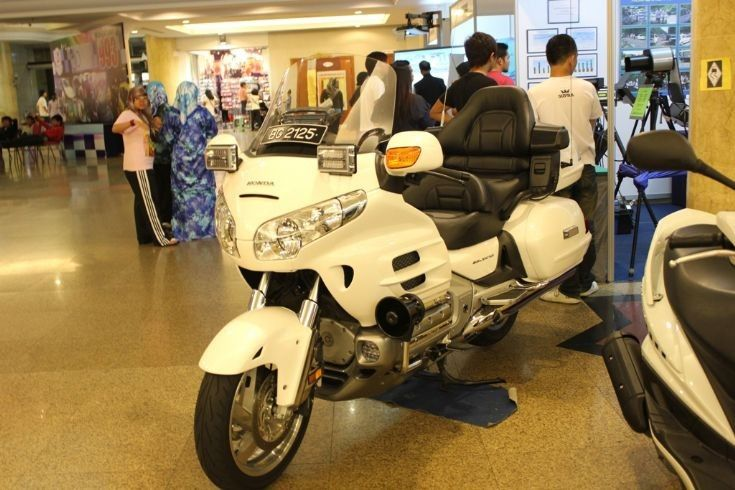 honda goldwing ceremonial motorcycle usedthe royal brunei