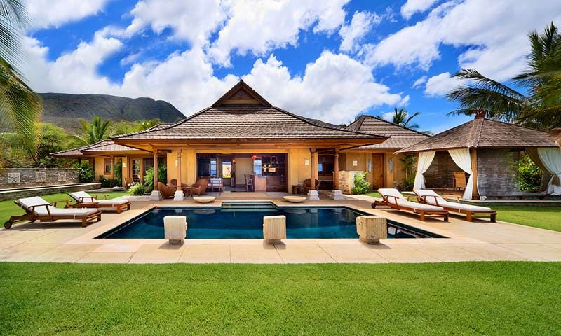 2 bdrm bali style villa for rent on maui. haven't stayed there yet