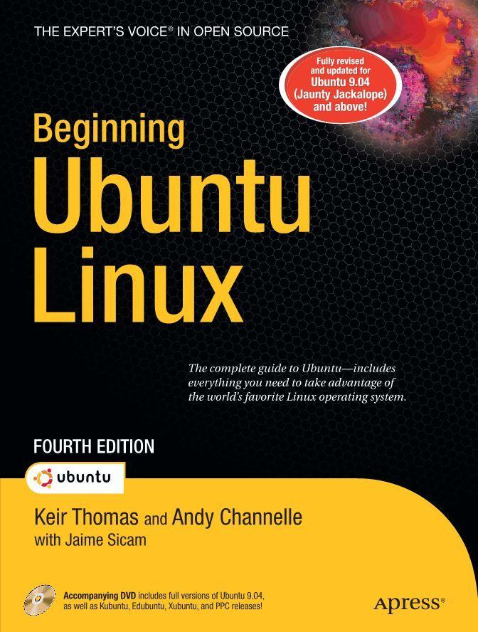 Beginning ubuntu linux 4th edition computer operating systems beginning ubuntu linux 4th edition fandeluxe Choice Image