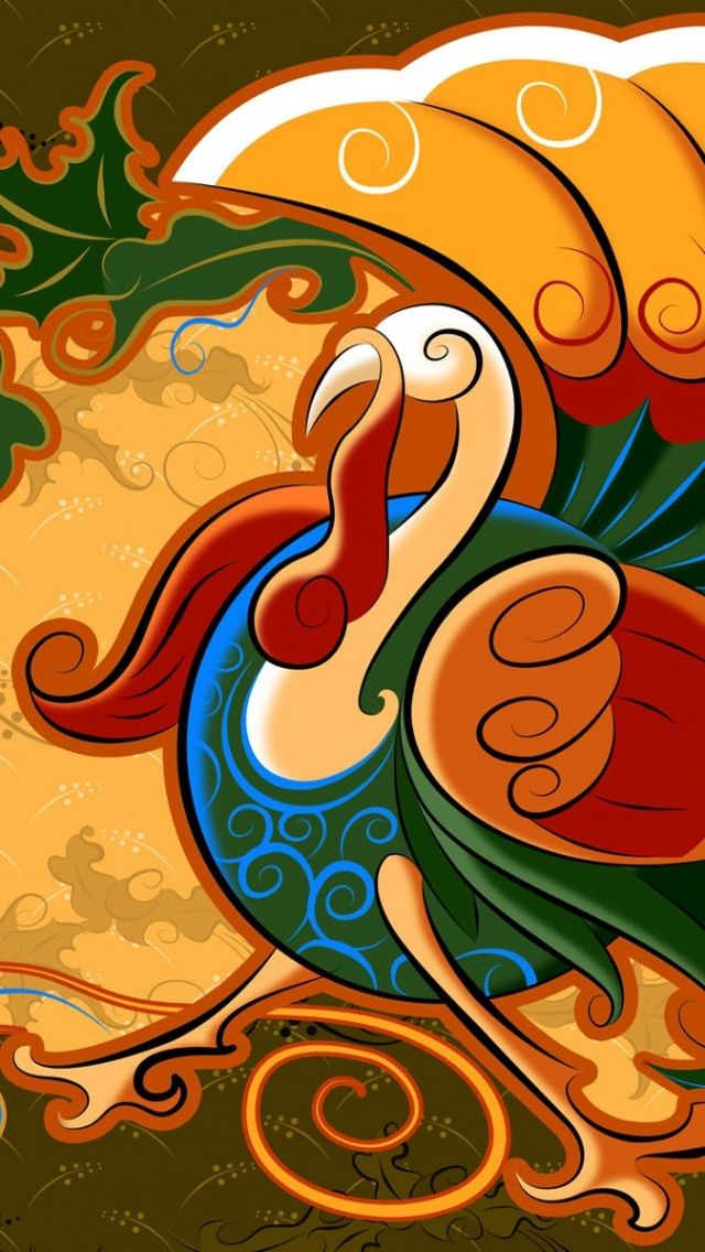 Thanksgiving Turkey Iphone Wallpaper Background Iphone Wallpaper