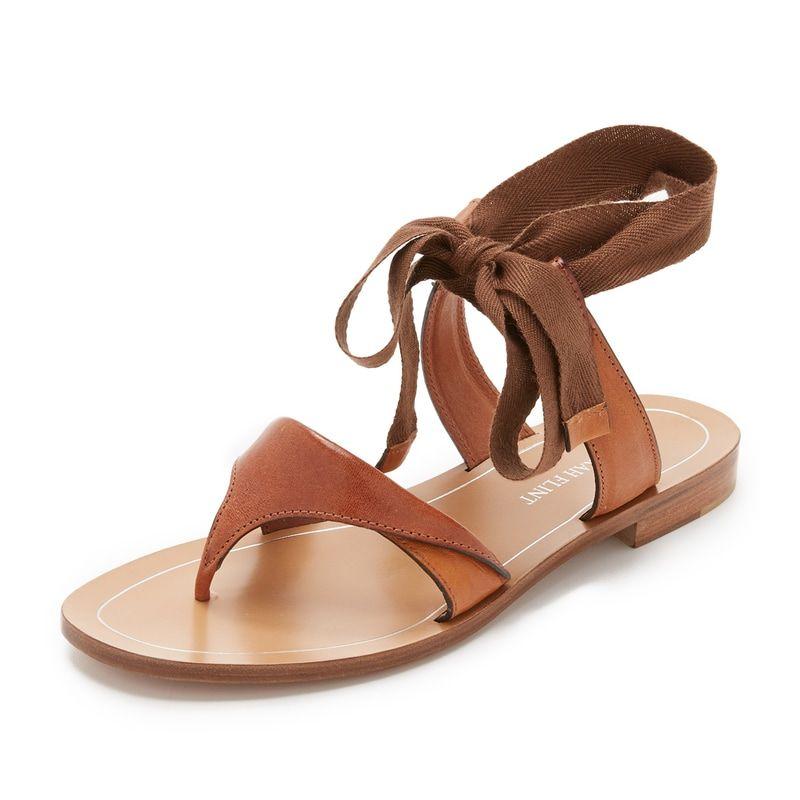 411df31ddfe8 Sarah Flint Tie Up Sandals aso Meghan Markle