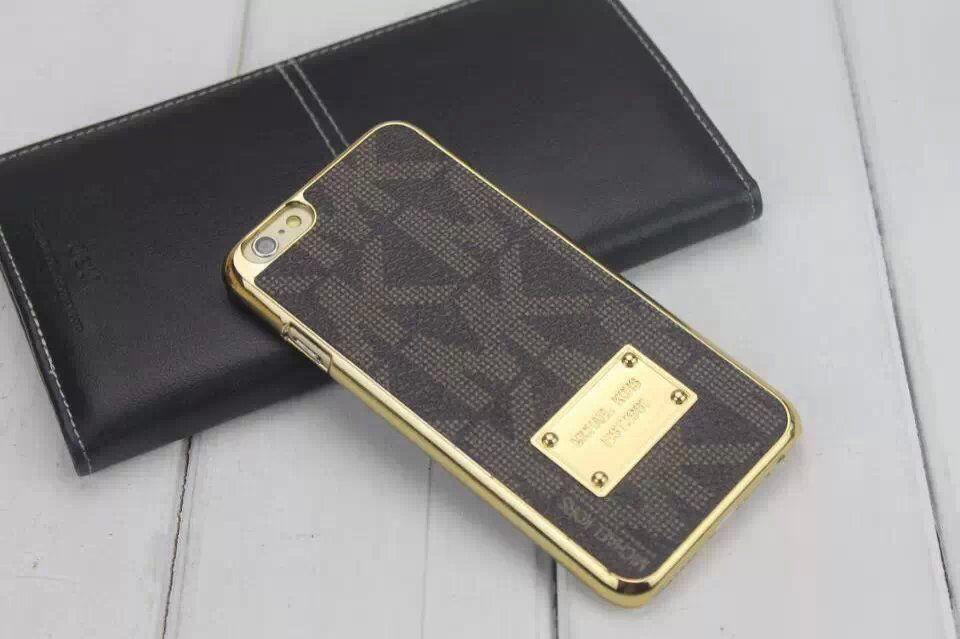 mk iphone 6 6s plus case michael kors back cover black. Black Bedroom Furniture Sets. Home Design Ideas