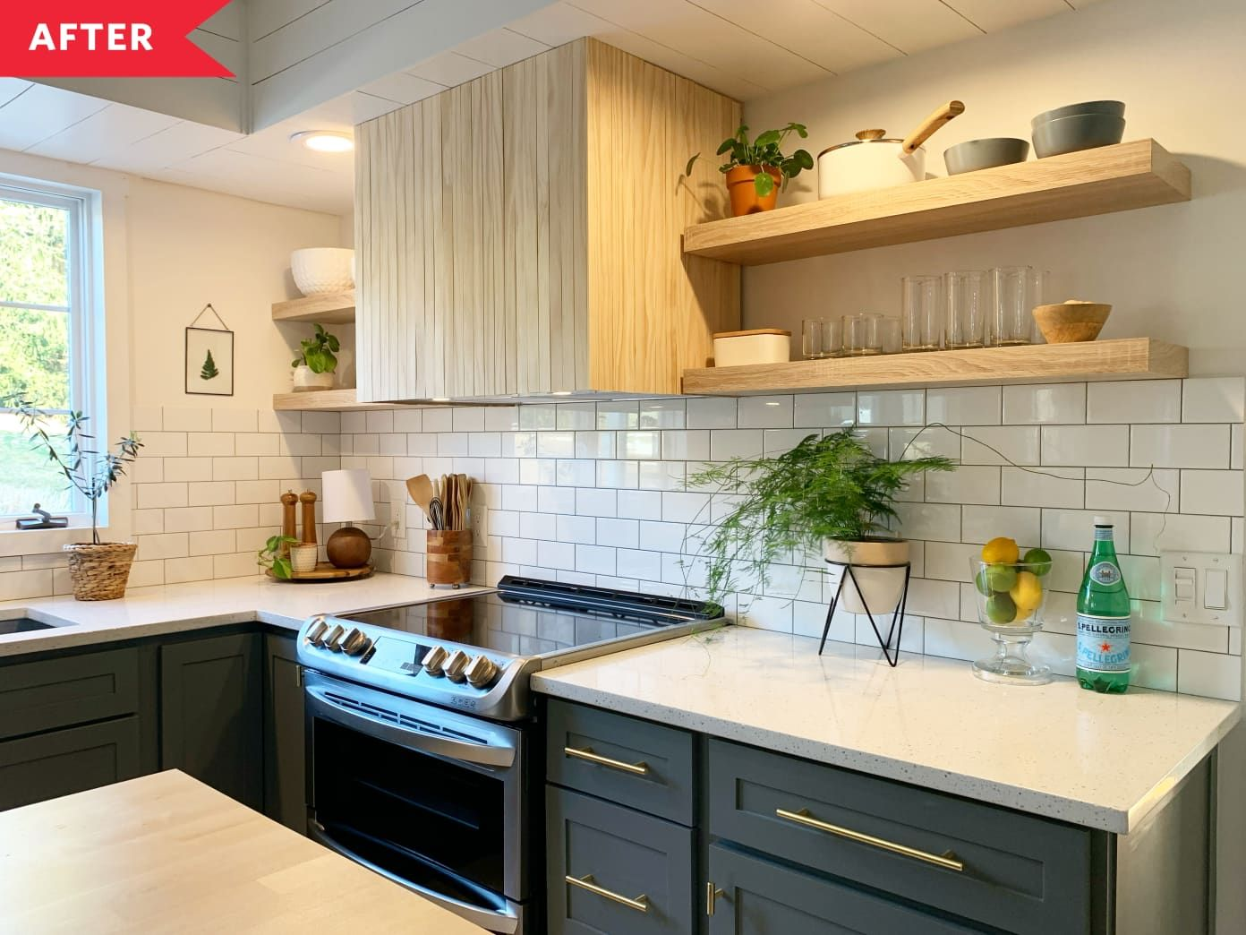 Before And After Just 2 000 Turns This 90s Kitchen Into A Scandi Boho Dream In 2020 Kitchen Remodel Budget Kitchen Remodel Brown Kitchens