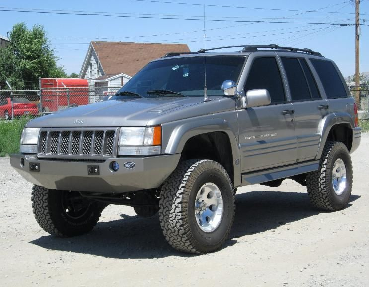 Jeep Zj Plastic Bumper For Increased Approach Angle Jeep Zj Jeep Grand Cherokee Zj Jeep Grand Cherokee Laredo