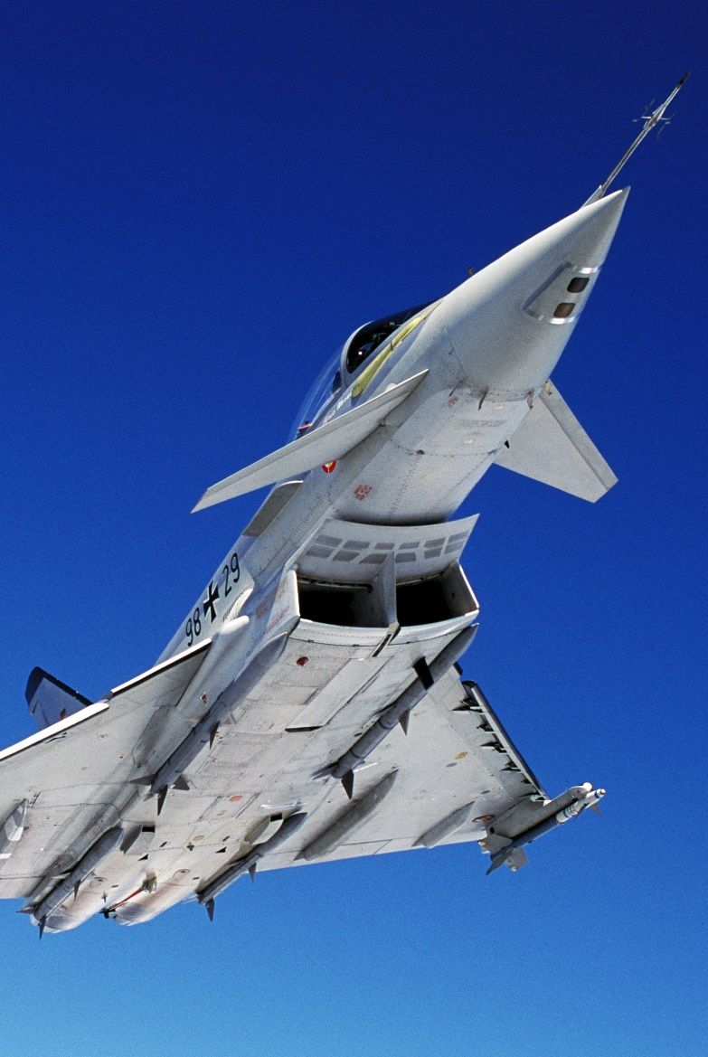 Aerophotography Eurofighter Typhoon Avion De Chasse Avion A