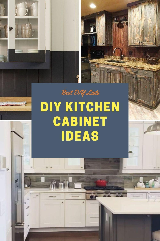 Best Kitchen Cabinet Diy Ideas Diy Kitchen Cabinets Best Kitchen Cabinets Cool Kitchens