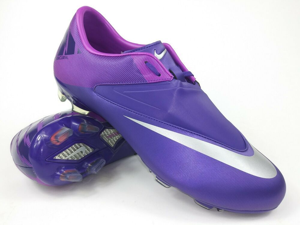 Advertisement Ebay Nike Men Rare Mercurial Glide Ll Fg 441985 505 Purple Silver Soccer Cleats Boots Youth Soccer Cleats Soccer Cleats Sport Shoes