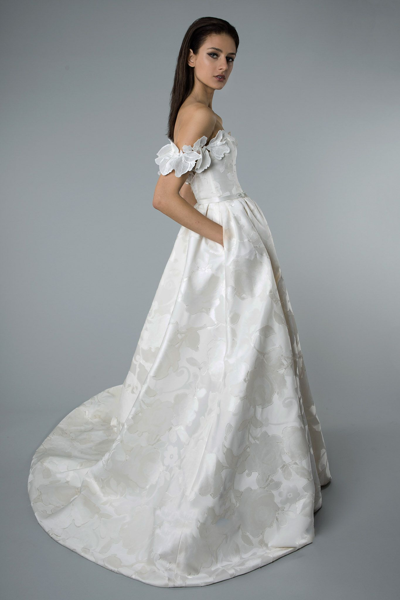 fafcb640085 Mira Zwillinger Harmonie wedding dress - Browns Bride