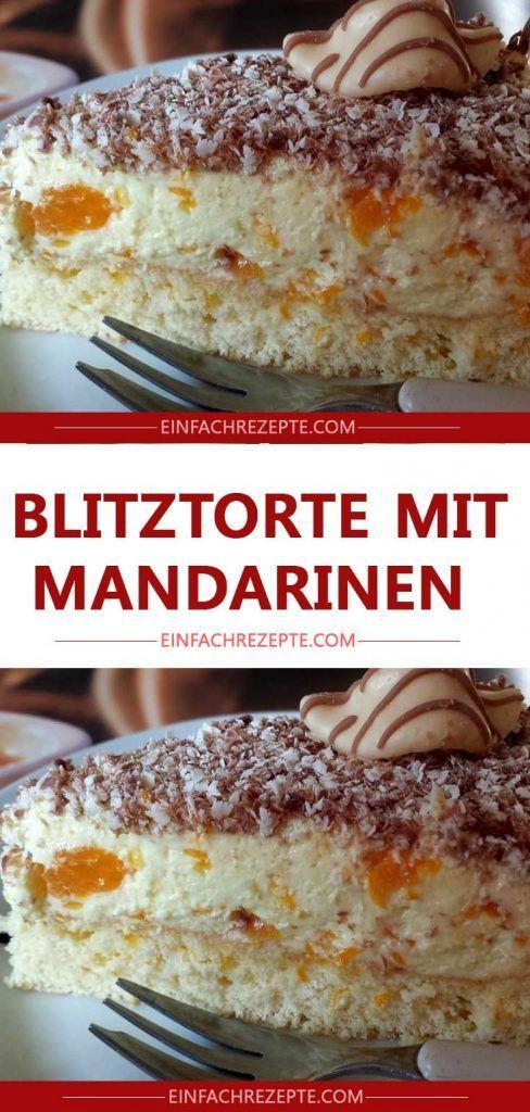 Photo of Blitz cake with mandarins 😍 😍 😍