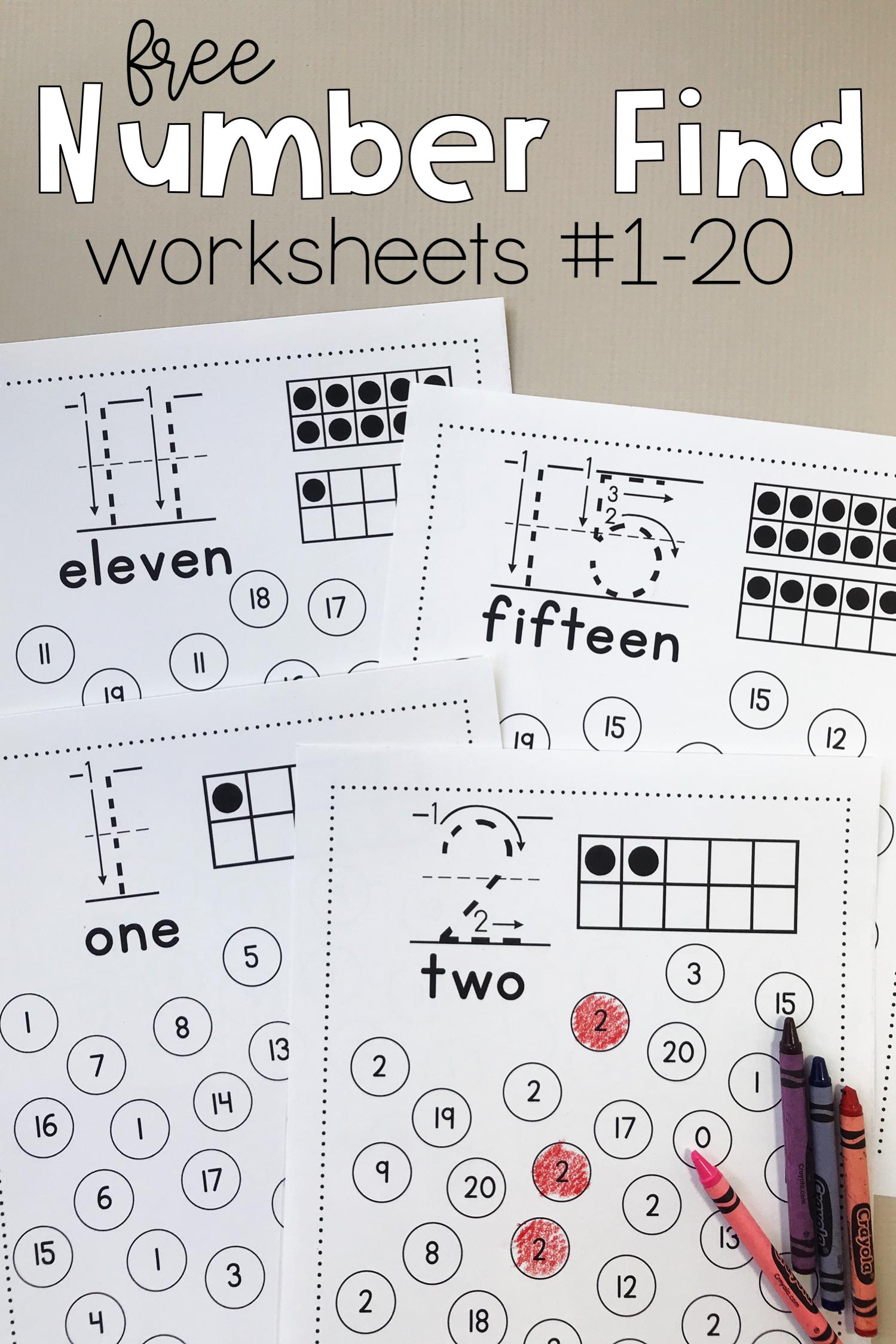 Print This Free Preschool And Kindergarten Math Activity