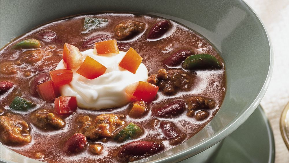 Quick and Easy Chili Recipe Chili recipes, Chili, Beef
