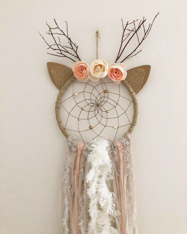 Danica Doe Deer Dream Catcher #dreamcatcher